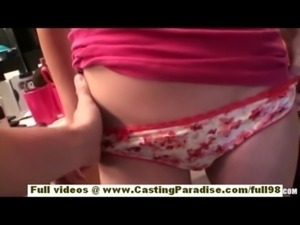 Veronica Franco amazing redhead babe on tape and doing blowjob free