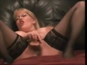 Busty Milf with Glasses Squirting