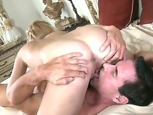 Horny cock loving blonde Kelly Surfer has wild sixty nine with Peter North to...