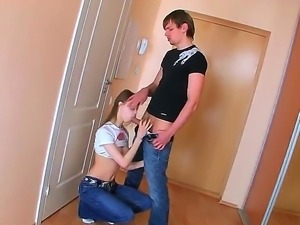 The sympathetic teen pornstar Beata gets fucked hard by a her new boyfriend...