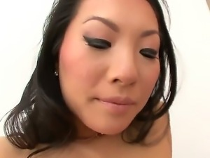 Japanese Asa Akira teases and amazes with her tight ass in wonderful anal...