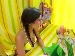 Lemonade stand with Jynx Maze was designed to bring her double pleasure with...