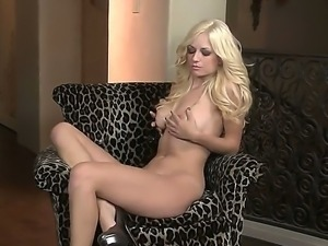 The so glamorous and wonderful blonde Danielle Trixie with the awesome body...