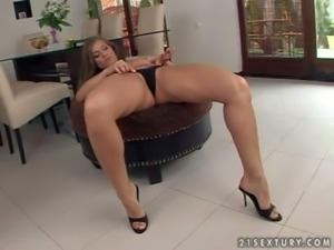 Rita Faltoyano is a dangerously sexy brown haired european babe