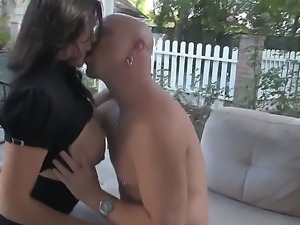 Raylene has many treasures to surprise lucky Tom Moore today, like her huge...