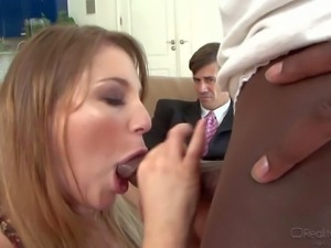 Aurora Snow's older husband can't give her the sexual pleasure