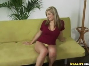 Check out video chronicles of Dayna's first time porn audition.