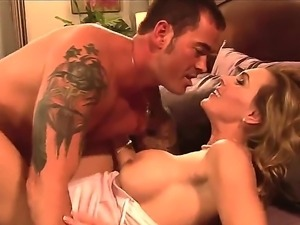 Mature sensual sex of horny Cece Stone and brutal muscled stud Dale Dabone!