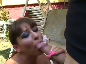 Horny cute babe Alison Star gets her wet juicy muff drilled hard with a large...