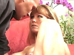 Darla Crane loves, when her muscled neighbour is treasing her tits and...