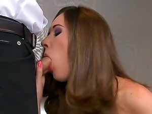 Hot ass sexy babe Nadia Bella gets her tasty  sweet muff drilled hard with a...