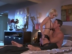 Nasty blonde Courtney Taylor pleases her guy with an amazing hardcore fuck...