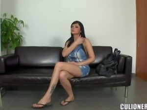 Awesome porn first timer Anastasia Brill is a hot brunette