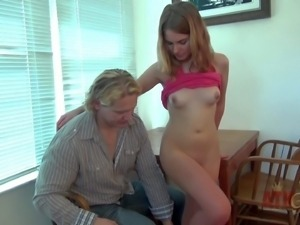 Jonni Hennessy is a tender girl with small tits and
