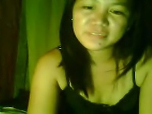 she is filipina girl. she likes to masturbate on her webcam.