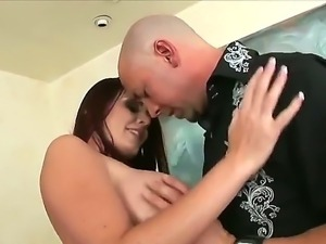 Sophie Dee - the winner of exceptional, imposing big boobs, in the oral...
