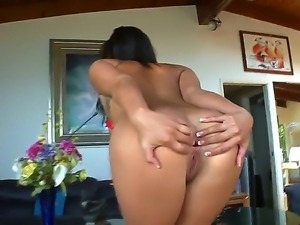Enjoy hard anal adventures of depraved glamourous London Keyes playing with...