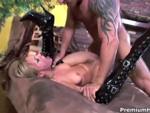 Holly Wellin gets fucked real hard in the ass after