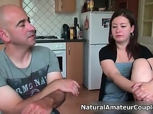 Dirty amateur whore gets horny talking part3