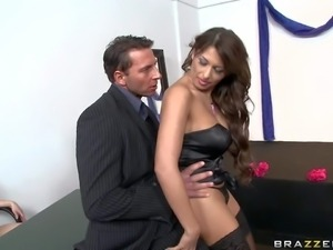 Allison Star has a surprise for Nick Lang in the