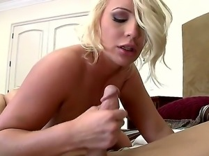 Appetizing oral sex in 69 poses with the Johnny Sins and Sadie Swede with big...