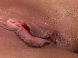 Nasty babe Mona Lone shows her sexy body and masturbates with her fingers