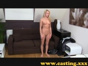 Casting - Adela experiences anal free