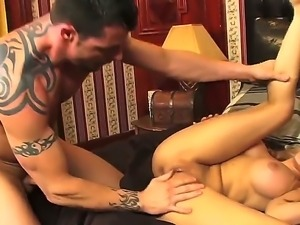 Big titted babe Madison Ivy fucked beautifully and passionate in her gorgeous...