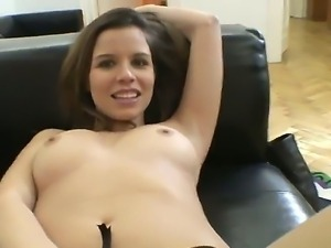 Have a look at dazzling hot chick Peaches masturbating in Rocco Siffredis POV...