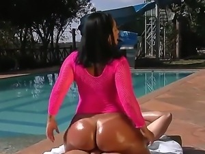 Brunette hottie Kelly Divine enjoys large cock stroking her wet pussy in wild...