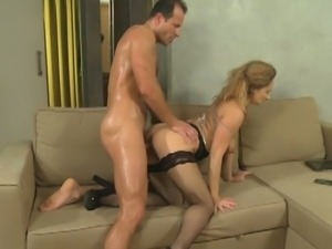 Sexy mom banged hard
