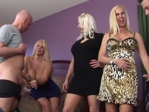 blonde cougars wild for cocks