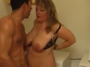 Busty French Mature in deep Anal fuck