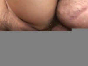 Horny and mature couple fucking on couch.
