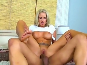Watch the nice pounding with sex appeal and naughty girlie Jessica Nix right...