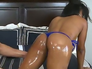 Danny Mountain loves to play with phat ebony asses. Thats why Alia Starr is...