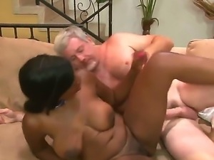 Cheep looking black bitch Jessica Grabbit with big tits and slutty make up...
