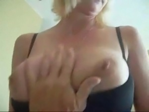 Amazing blonde mom sextape
