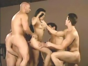 12 Guys Cum Inside Girl