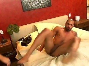 Impeccable big titted MILF Darla Crane moans while Karlo Karerra drills her...