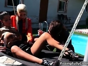 Nasty hot lesbians go crazy rubbing part5