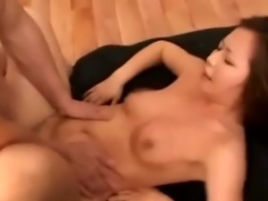 Rammed japanese slut gets facial whilst bitch panel watch