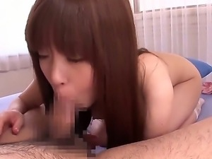 Innocent looking japanese teen Hirono Imai with round firm ass and natural...