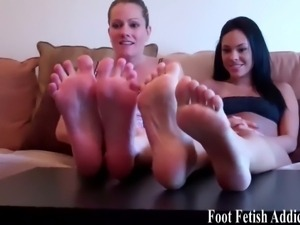 Dirty foot fetish talk