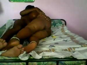 Southindian cheating Aunty with her BF-I
