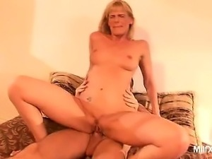 Darryl Hanah is a stunning blonde who's pretty enough to be a professional...