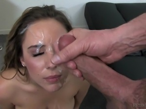 pretty and cum covered @ pov #38