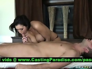 Dylan Ryder stunning busty brunette riding cock