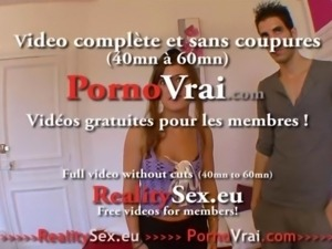 Teen orgasm very intensely! Enormes orgasmes ! French amateur