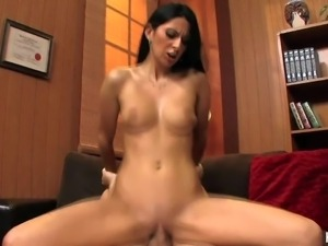 Tight ass milf Nikki Daniels with tight ass and sexy french manicure seduces...